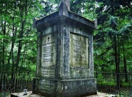 Pomnik Hrabiego Witolda  w Leśniewie