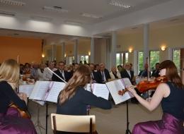 Koncert kwartetu smyczkowego - otwarcie świetlicy w Wierzycach