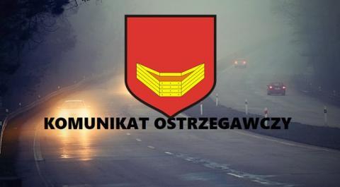komunikat z logo