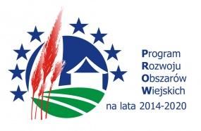 logotyp Programu Rozwoju Obszarów Wiejskich na lata 2014 - 2020