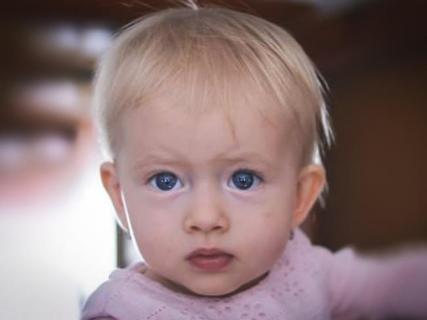 zdjęcie dziecka - Olgi